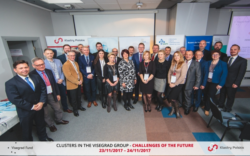 Meeting for clusters representatives from the Visegrad Group countries 23/11/2017 – 24/11/2017